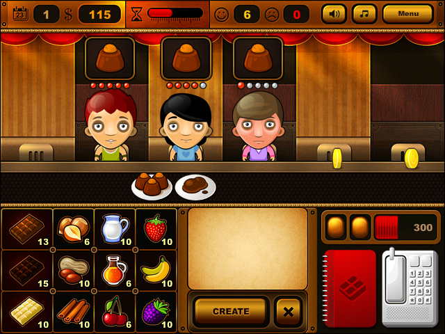 Chocolate Bar Online - Imagem 1 do software