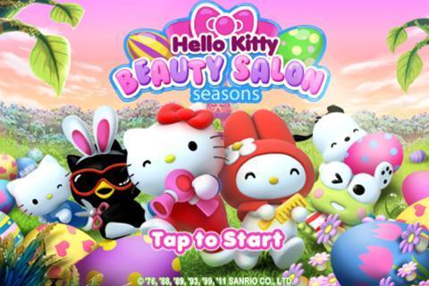Hello Kitty Beauty Salon Seasons - Imagem 1 do software