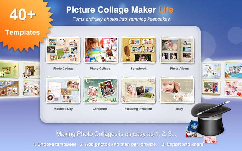 Picture Collage Maker - Imagem 1 do software