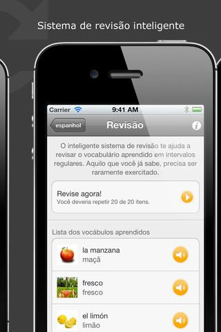 Aprenda espanhol: Babbel.com treino de vocabulário para os níveis básico e avançado - Imagem 1 do software