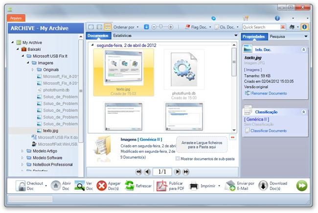 Simple Doc Organizer Free Edition - Imagem 1 do software