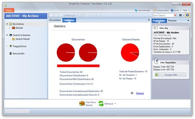 Simple Doc Organizer Free Edition - Imagem 2 do software