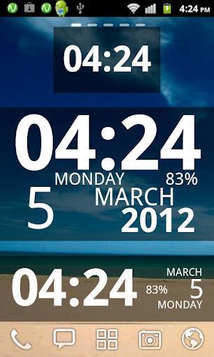 Digi Clock Widget by Zee - Imagem 1 do software
