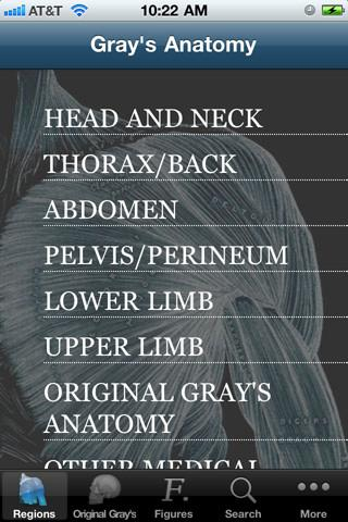 Gray´s Anatomy 2011 - Imagem 1 do software