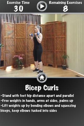 Daily Arm Workout FREE - Imagem 1 do software
