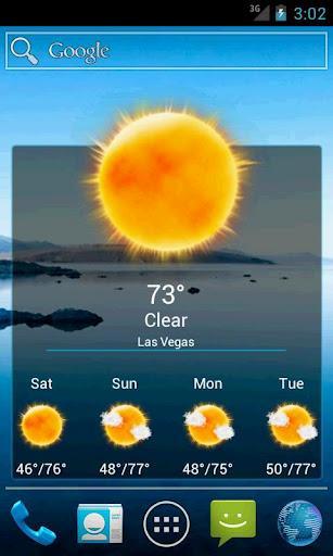 Weatherlove - Imagem 4 do software