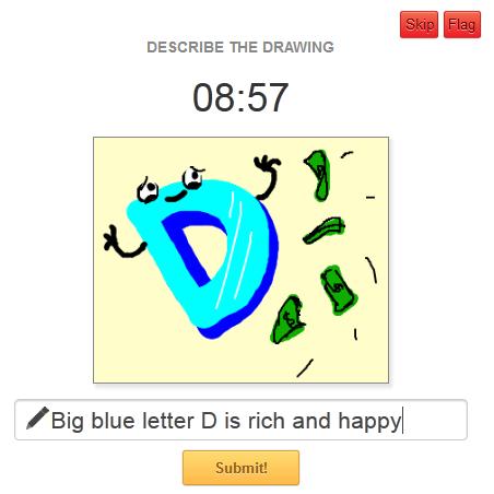 Descreva todos os detalhes do desenho