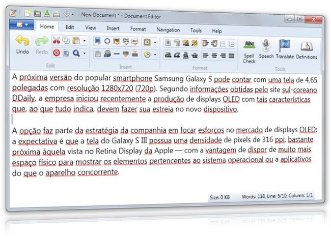 Document.Editor - Imagem 1 do software