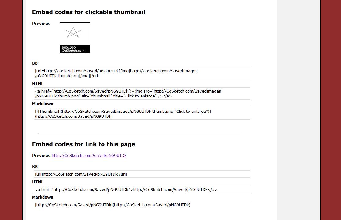 CoSketch - Imagem 2 do software