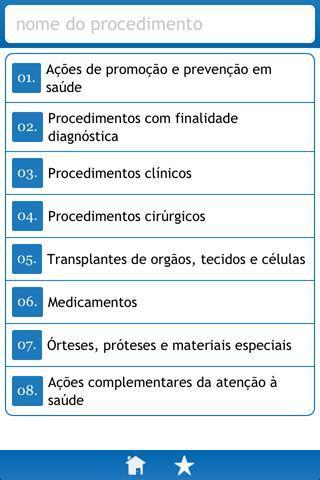 Procedimentos SUS - Imagem 1 do software