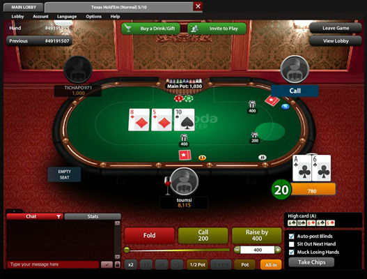 Soda Poker - Imagem 2 do software