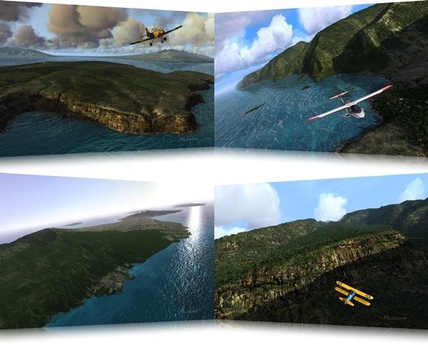 Microsoft Flight: Hawaiian Adventure Theme - Imagem 1 do software