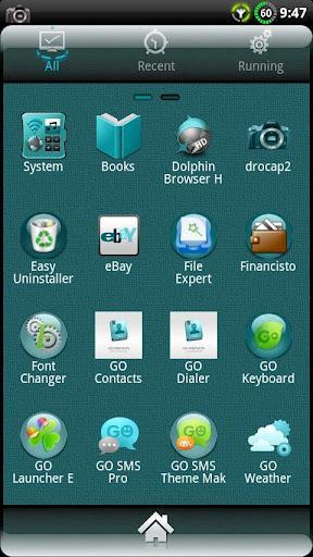 CYANOGEN GO Launcher EX Theme - Imagem 2 do software
