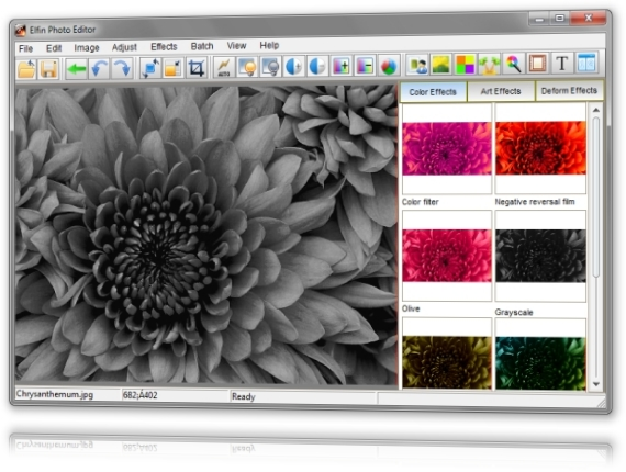 Elfin Photo Editor - Imagem 3 do software