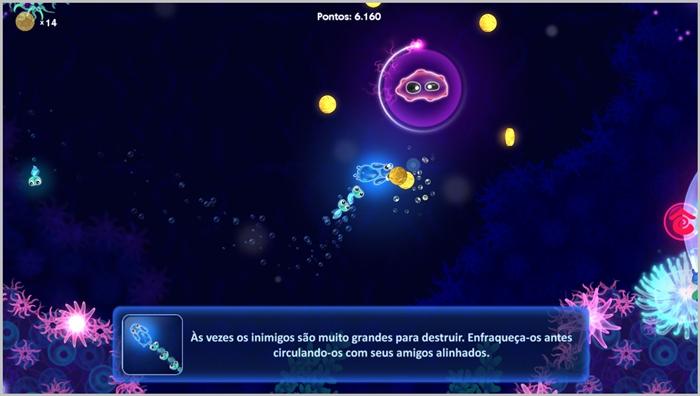 Glowfish Deluxe - Imagem 2 do software
