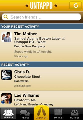 Untappd - Imagem 1 do software