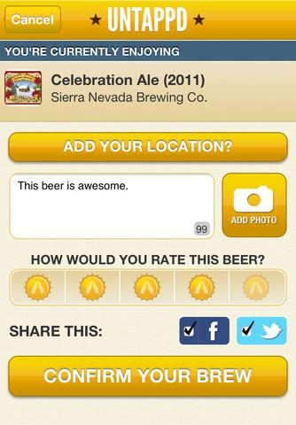 Untappd - Imagem 2 do software