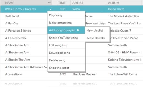 Google Music Desktop Player - Imagem 3 do software