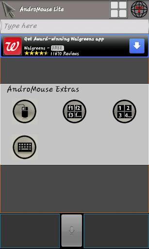 Android Mouse and Keyboard - Imagem 3 do software