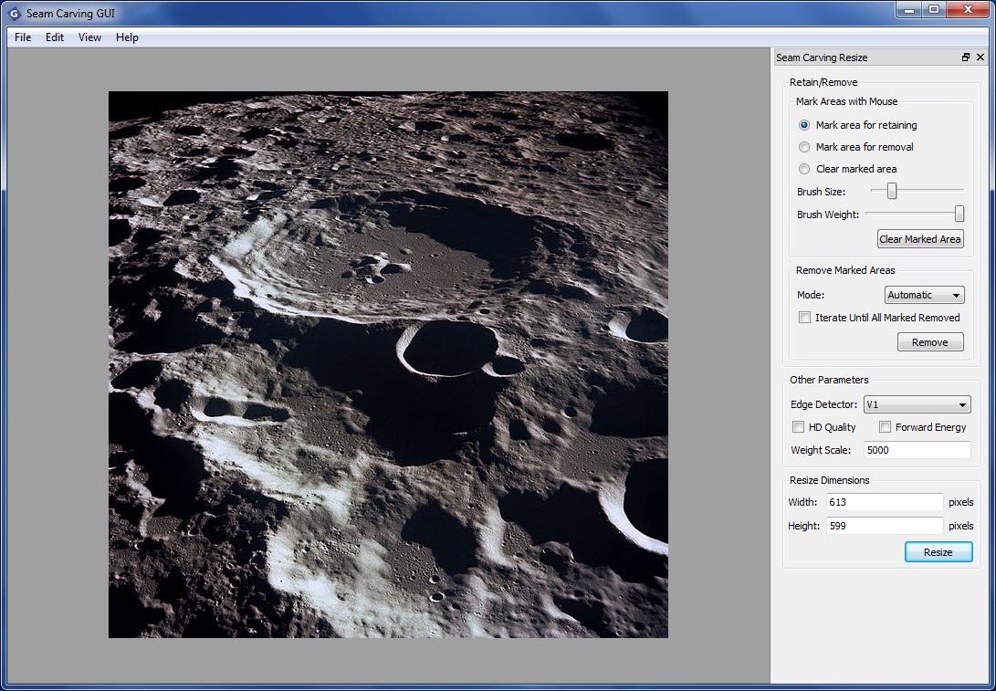 Seam Carving - Imagem 1 do software