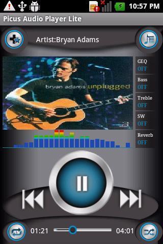 Picus Audio Player Lite - Imagem 1 do software
