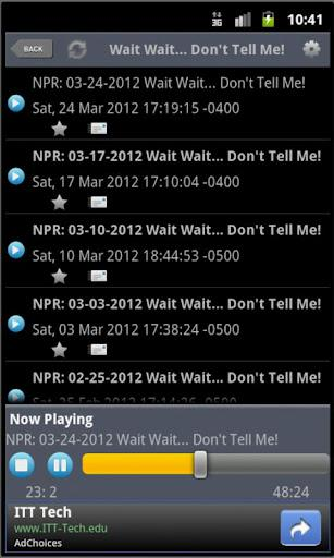 NPR Podcast Player - Imagem 2 do software