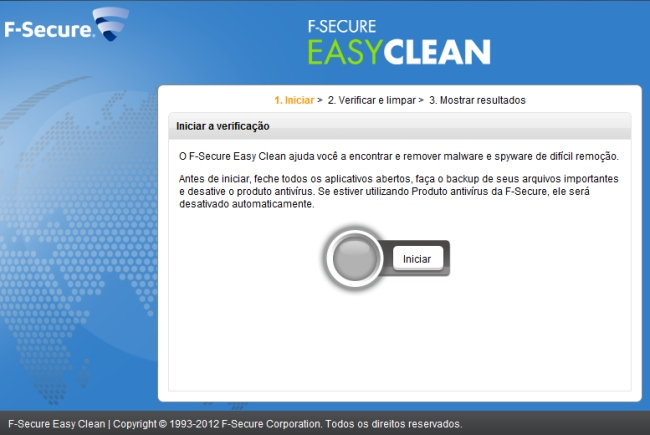 F-Secure Easy Clean - Imagem 2 do software