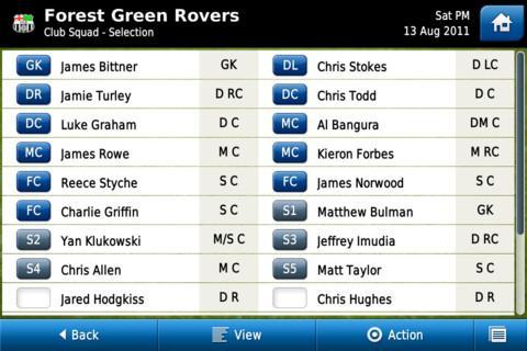 Football Manager Handheld 2012 - Imagem 2 do software