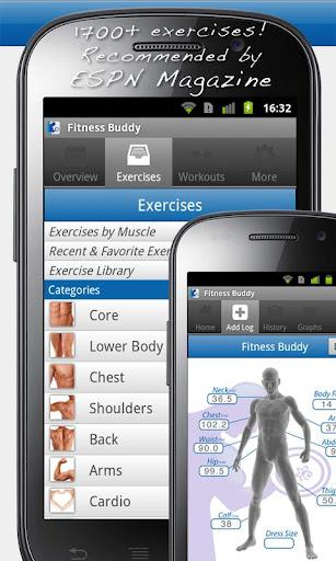 Fitness Buddy : 1700 Exercises - Imagem 1 do software