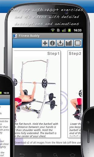 Fitness Buddy : 1700 Exercises - Imagem 2 do software