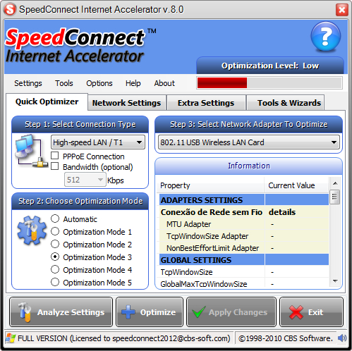 acelerador de internet via radio para windows 7