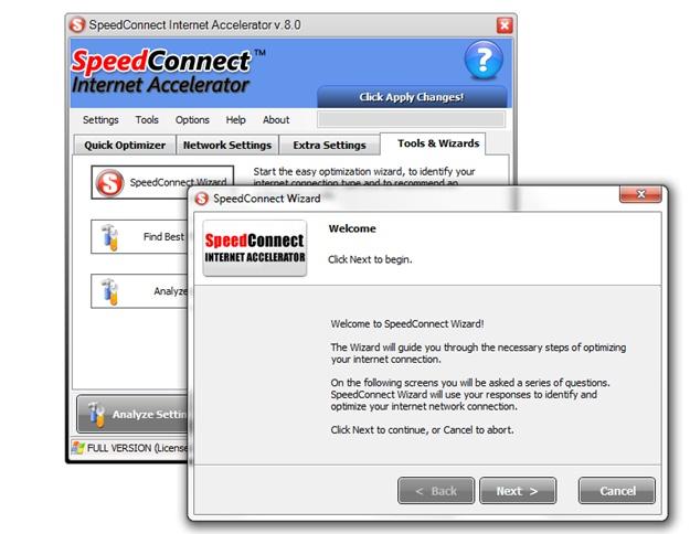 acelerador de internet gratis no baixaki