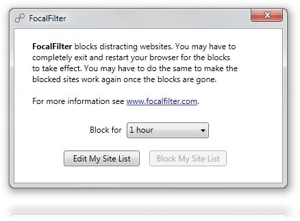 FocalFilter - Imagem 1 do software
