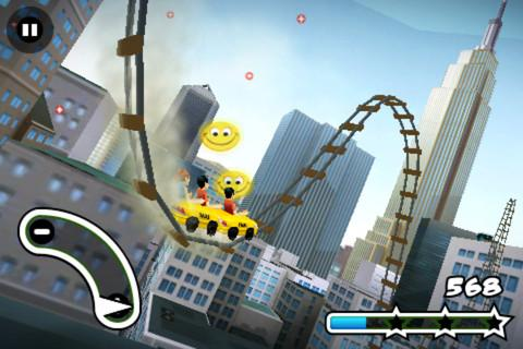 New York 3D Rollercoaster Rush - Imagem 2 do software