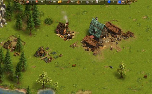 Sua primeira vila