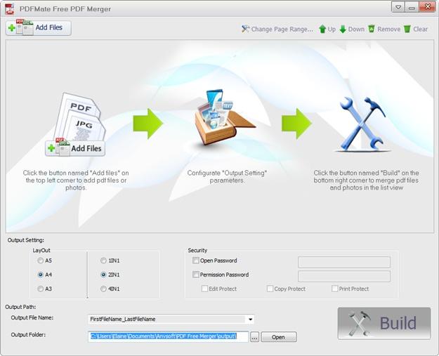 DFMate Free PDF Merger - Imagem 1 do software
