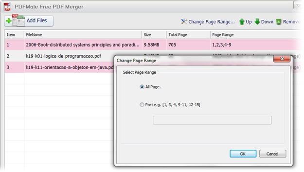 DFMate Free PDF Merger - Imagem 3 do software