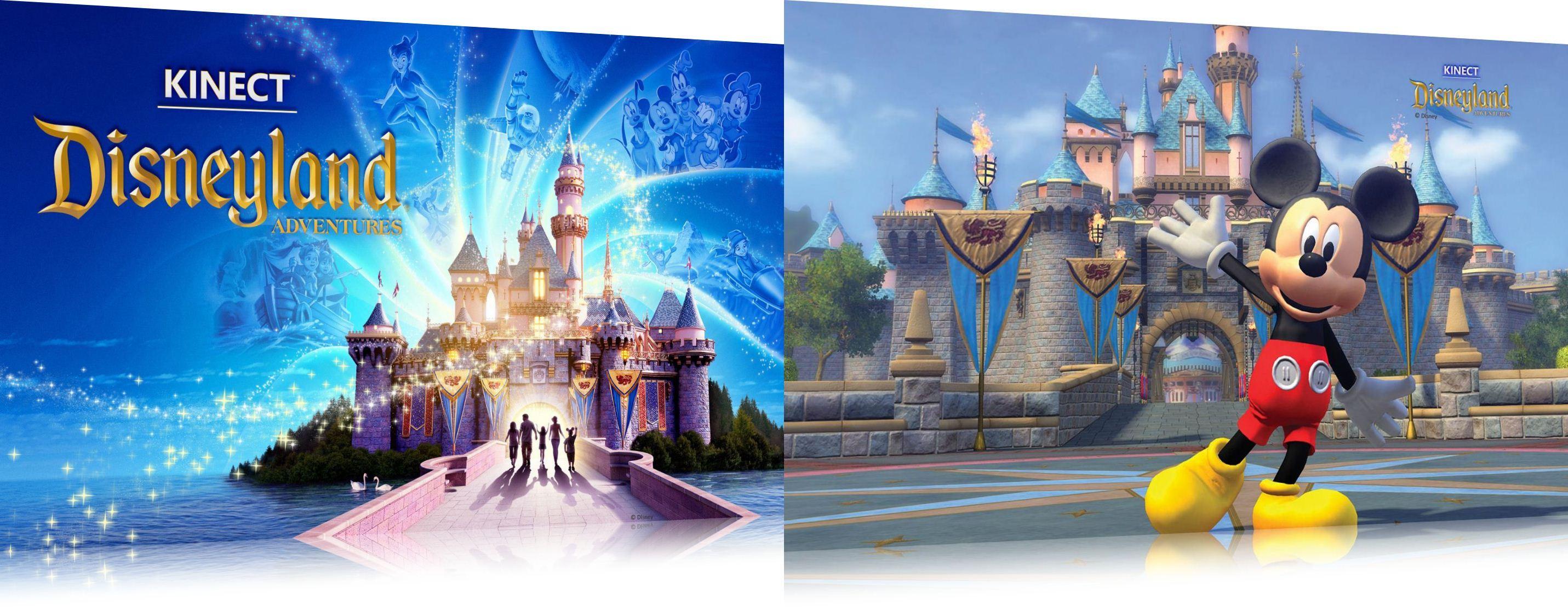 Kinect: Disneyland Adventures Theme - Imagem 1 do software