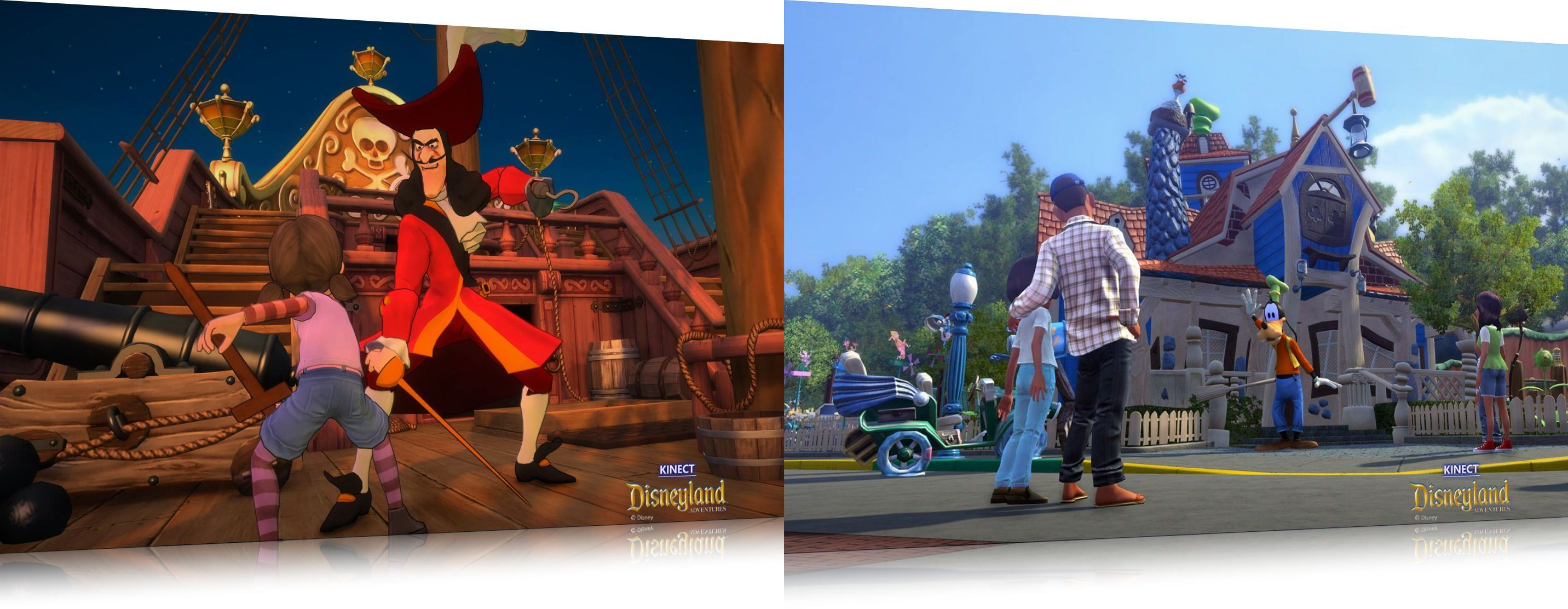 Kinect: Disneyland Adventures Theme - Imagem 2 do software