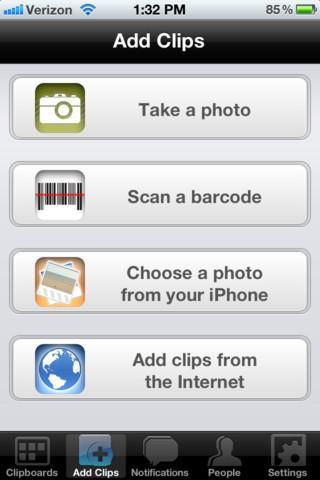 Clipix - Imagem 1 do software