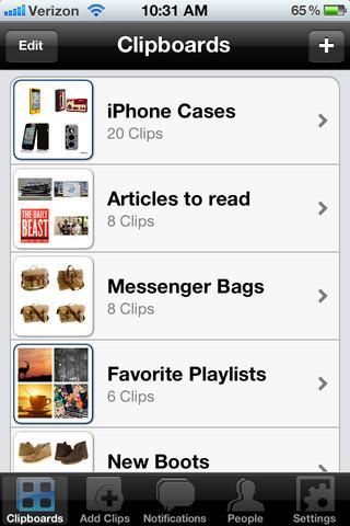 Clipix - Imagem 2 do software