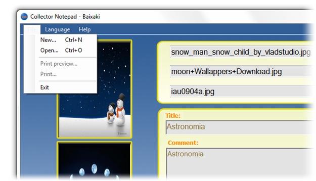 Collector Notepad - Imagem 3 do software