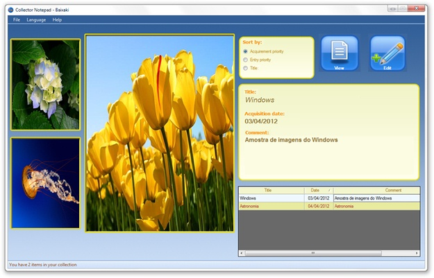 Collector Notepad - Imagem 1 do software