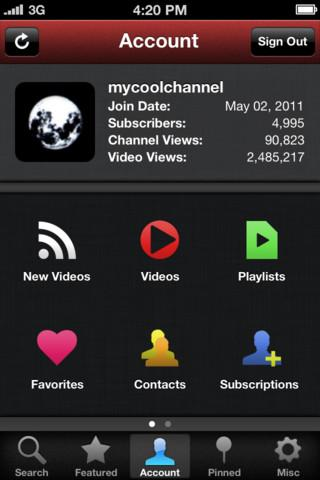 Tubeacco for YouTube - A Video Search Client - Imagem 2 do software