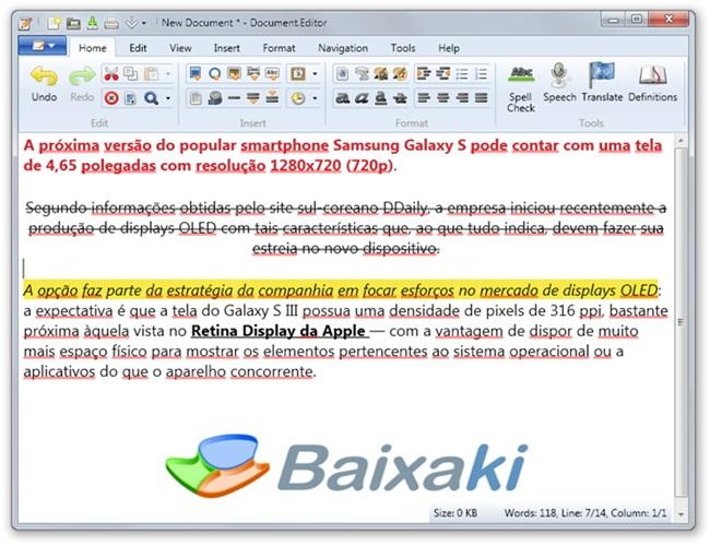 Document.Editor - Imagem 2 do software