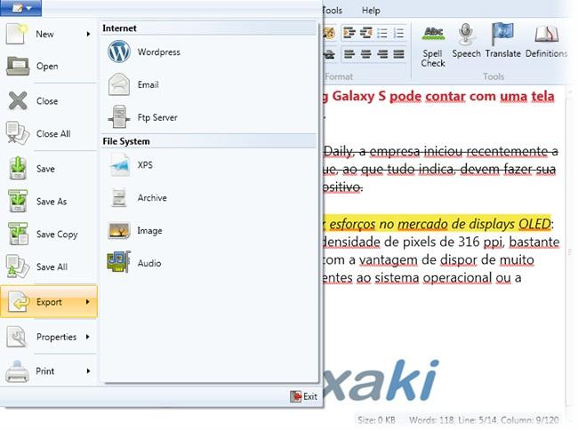 Document.Editor - Imagem 3 do software