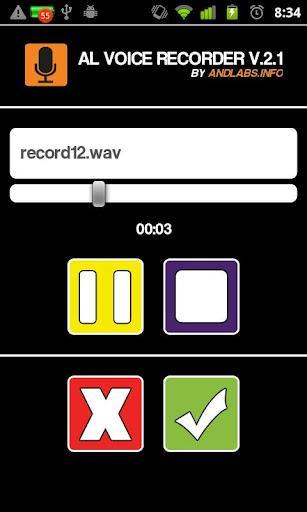 AL Voice Recorder - Imagem 2 do software
