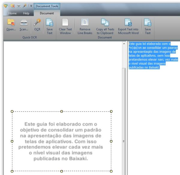 Free OCR to Word - Imagem 1 do software