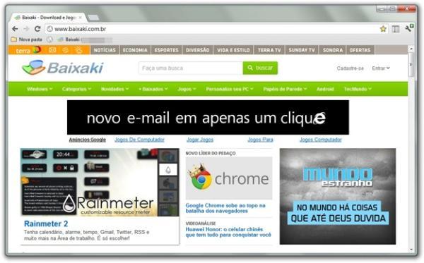 Chrome: visual parecido, mas funções renovadas