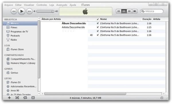 O iTunes mudou? Sério?
